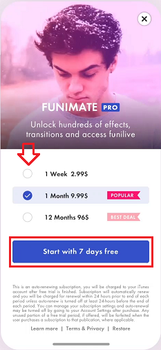 How To Unlock Pro Effects On Funimate